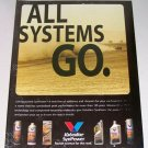 1998 Valvoline SynPower Products Color Print Ad