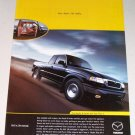 1998 Mazda B-Series 4x4 Cab Plus 4 Pickup Color Print Truck Ad