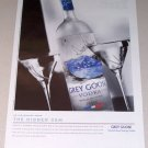 2007 Grey Goose Vodka Color Print Liquor Ad