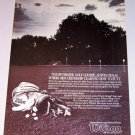 1987 Wilson Golf Clubs Color Print Ad Riverside Golf Course Austin Texas