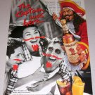 1995 Captain Morgan Spiced Rum Color Print Ad