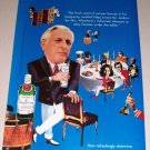 1995 Imported Tanqueray Dry Gin Color Print Art Ad