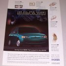 1995 Hyundai Accent Automobile Print Car Ad