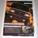 1995 Ford Ranger 4x4 Pickup Color Print Truck Ad