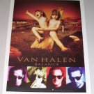 1994 Van Halen BALANCE Color Print Music Ad