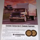 1995 International 4900 Truck Color Print Ad