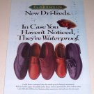 1995 Florsheim Dri-Treds Shoes Color Print Ad