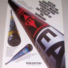 1995 EASTON Baseball Bats Color Print Ad