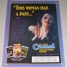 1995 Camel Cigarettes Collector's Packs Color Print Tobacco Ad