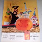 1964 Kool Aid Instant Drink Circus Party Color Print Ad
