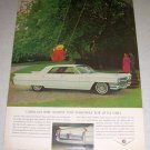 1964 Cadillac Sedan Automobile Color Car Ad