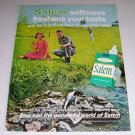1964 RJR Salem Menthol Tobacco Cigarettes Color Ad