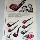 1964 Medico Filter Smoking Pipes Vintage Ad