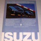 1985 Isuzu I-Mark Hatchback Sedan Automobiles Color Car Ad