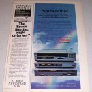 1985 Cannon Video System Color Electronics Ad