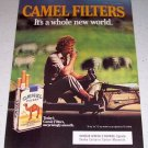 1985 Camel Cigarettes Safari Themed Color Tobacco Ad