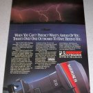 1986 Mariner 20 Outboard Motor Color Ad