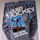 1986 Jockey Underwear Color Ad