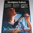 1986 Mr Goodwrench Genuine GM Parts Color Ad - Designer Label
