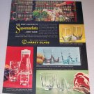 1962 Libbey Glasses Color Print Ad