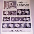 1957 Longines Wittnauer Le Coultre Watches Print Ad