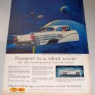 1958 B58 Buick Special 2 Door Riviera Color Print Car Ad