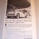 1960 Triumph TR-3 Automobile Print Car Ad