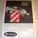 Nationwide Insurance Company Emergency Reflector Offer 1961 Print Ad