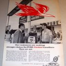 Pure Firebird Gasolines Gas Station 1961 Print Gas Ad