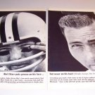 Vitalis Hair Tonic NFL Football Bart Starr 1962 Print 2 Page Ad