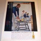 Seagrams Gin America's Cup 1962 Color Print Liquor Ad