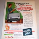 Apeco Electr-stat Copier 1962 Color Print Ad