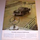 1963 Mercedes Benz 300SE Sedan Automobile Print Car Ad