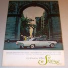1963 Buick Skylark Coupe Automobile Color Print Car Ad