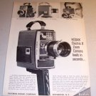 1964 Eastman Kodak Electric 8 Zoom Camera Print Ad