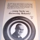1964 Mohawk Ultissimo Tires Print Ad
