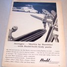 1965 AMC Marlin Rambler Automobile Surfing Art Budd Automotive Print Ad