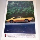 1966 Oldsmobile Toronado Automobile Color 1965 Print Car Ad