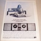 1965 Wollensak 5280 Stereo Tape Recorder Print Ad