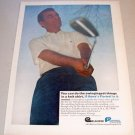 1967 Jantzen Knit Shirt Color Print Ad Golf Pro Dave Marr
