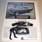 1967 MGB Roadster Convertible Automobile Print Car Ad