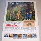1969 Schwinn Collegiate Breeze Bicycles Color Print Bike Ad