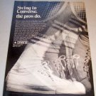 1969 Converse All Stars Tennis Shoes Print Ad