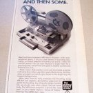 1969 Kodak Instamatic M95 Movie Projector Print Ad