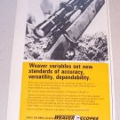 1969 Weaver Model V7 Rifle Scope Print Ad