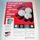 1969 Ben Hogan Golf Balls Print Ad