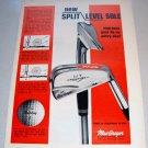 1969 MacGregor MT Tourney Golf Irons Color Print Ad