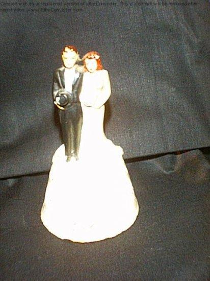Vintage wedding topper