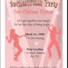 Bachelorette Dancers Party Invitation