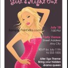 Blondes Have More Fun Party Invitation